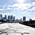 Frozen Philadelphia Cityscape by Bill Cannon