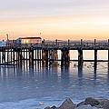 Frozen Pier by Janice Drew