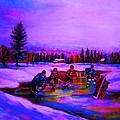Frozen Pond by Carole Spandau