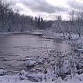 Frozen Pond by Joshua Thompson