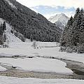 Frozen River by Christiane Schulze Art And Photography