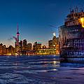 Frozen Skyline by Marcos Lins