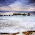 Frozen Tundra Of Long Island by Vicki Jauron