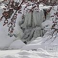 Frozen Waterfall by SAJE Photography