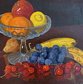 Fruit And Glass by Terry Perham