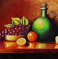 Fruit And Jug by Gene Gregory