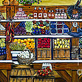 Fruit And Vegetable Market By Alison Tave by Sheldon Kralstein