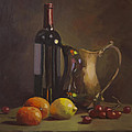 Fruit And Wine by Karen Fess
