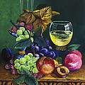 Fruit And Wine by Karon Melillo DeVega