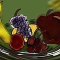 Fruit Bowl by Barbara Marlin
