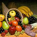 Fruit Cornucopia  by Craig Lovell
