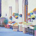 Fruit Market In Tuscany by Jan Matson