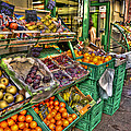 Fruit Market by Jon Berghoff