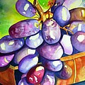 Purple Grapes by Jane Ricker