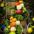 Fruit Stall In Vietnamese Market by Mark Llewellyn