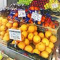 Fruit Stand Hoboken Nj by Susan Savad