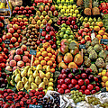 Fruit Stand by Jim DeLillo