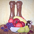 Fruit Table by Susan Turner Soulis