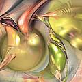 Fruitful - Abstract Art by Sipo Liimatainen