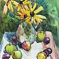 Fruits And Camomiles by Juliya Zhukova