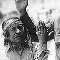 Ft. Apache Homage 1948 Ft. Apache Celebration Ft. Apache Arizona Saluting Apaches 1970 by David Lee Guss