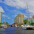 Ft. Lauderdale Canal by Rich Walter