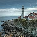 Ft. Williams Lighthouse by Michael Kirk