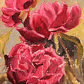 Fuchsia Peonies by Ruth Soller