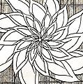 Full Bloom Iv  by Anita Lewis