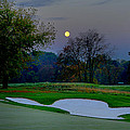 Full Moon At The Philadelphia Cricket Club by Bill Cannon