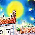 Full Moon by Hisayo Ohta