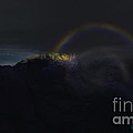 Full Moon Rainbow by Pet Serrano