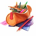 Full Pencil Case by Science Photo Library