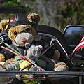 Full Throttle Teddy Bear by Christine Till