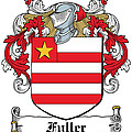 Fuller Coat Of Arms Kerry Ireland by Heraldry