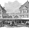 Fulton Fish Market, 1881 by Granger