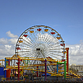 Fun At Santa Monica Pier by Kim Hojnacki