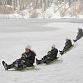 Fun In The Snow by Susan Candelario