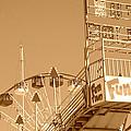 Fun Slide Sepia by Chanel Fernandez