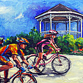 Fun Time In Bicycling by Mitzi Lai