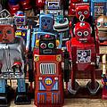 Fun Toy Robots by Garry Gay