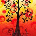 Fun Tree Of Life Impression IIi by Irina Sztukowski