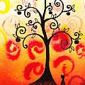 Fun Tree Of Life Impression Iv by Irina Sztukowski