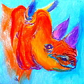 Funky Rhino African Jungle by Sue Jacobi