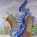 Funky Town by Brenda Salamone
