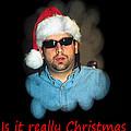 Funny Christmas Card by Joseph C Hinson Photography