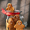 Funny gingerbread Men by Amanda Elwell