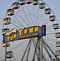 Funtown Ferris Wheel by Terry DeLuco