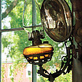 Furniture - Lamp - An Oil Lantern by Mike Savad