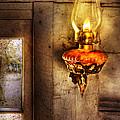 Furniture - Lamp - Kerosene Lamp by Mike Savad